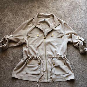 Calvin Klein Tan Utility Jacket XL
